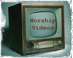 Worship Videos Button