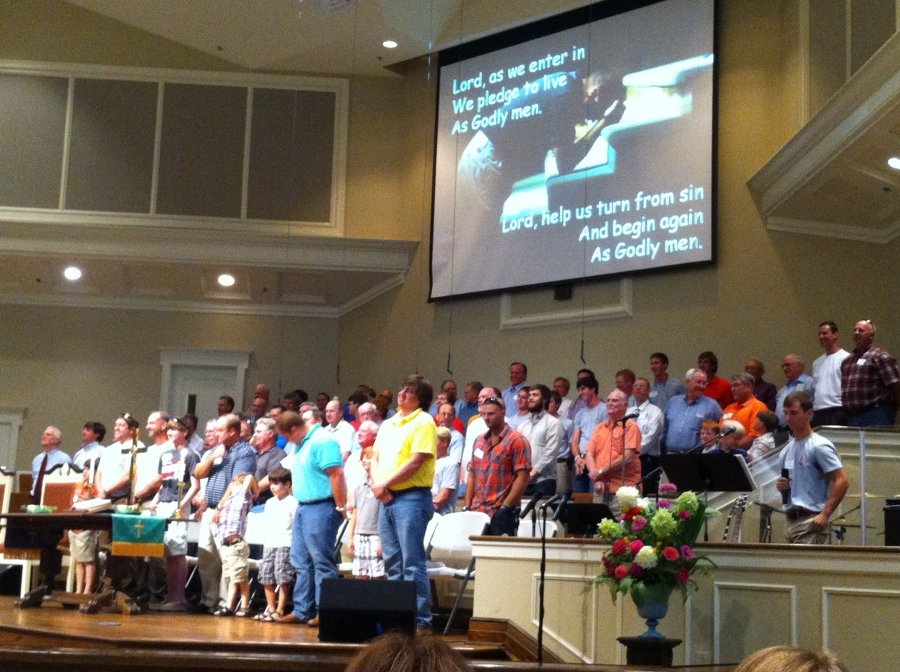MUMC Men gave a wonderful performance!